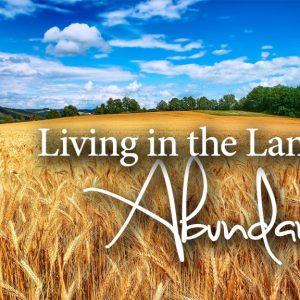 Living in the Land of Abundance